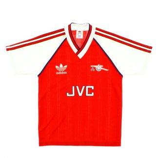 1988-90 Arsenal Home Shirt *Mint* L.Boys