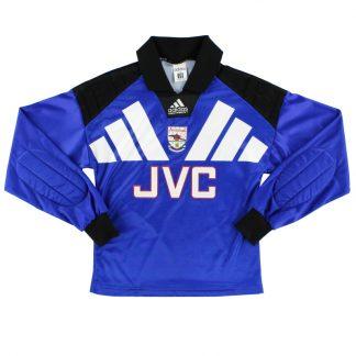1992-94 Arsenal Goalkeeper Shirt L.Boys
