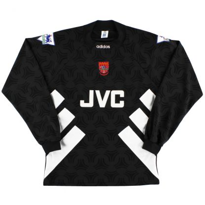 1993-94 Arsenal Goalkeeper Shirt *Mint* M