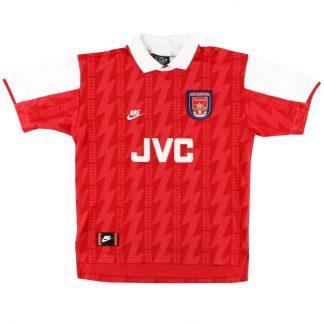 1994-96 Arsenal Home Shirt S