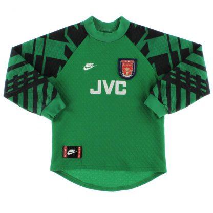 1995-97 Arsenal Goalkeeper Shirt M.Boys