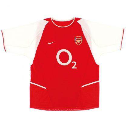 2002-04 Arsenal Home Shirt XL