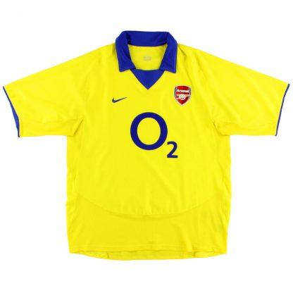 2003-04 Arsenal Away Shirt *Mint* XL