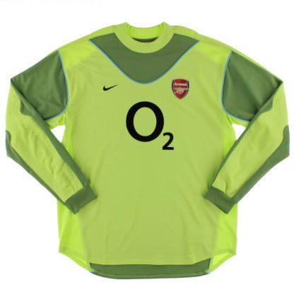 2003-04 Arsenal Goalkeeper Shirt *Mint* XL