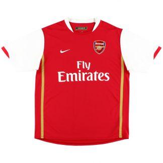 2006-08 Arsenal Home Shirt L