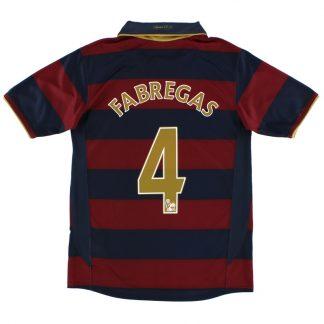 2007-08 Arsenal Third Shirt Fabregas #4 XL.Boys