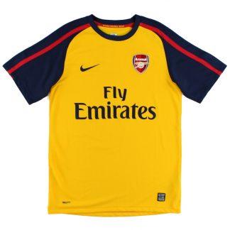 2008-09 Arsenal Away Shirt XL.Boys