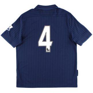 2009-10 Arsenal Away Shirt #4 *Mint* XL
