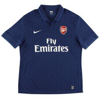 2009-10 Arsenal Away Shirt S.Boys