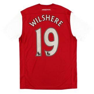 2011-12 Arsenal '125th Anniversary' Home Shirt Wilshere #19 M