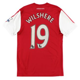 2011-12 Arsenal '125th Anniversary' Home Shirt Wilshere #19 S