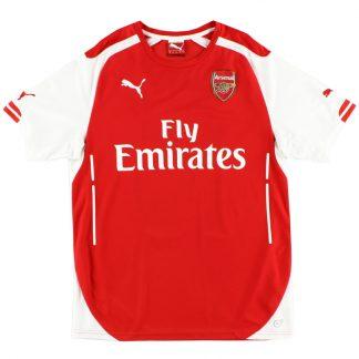2014-15 Arsenal Home Shirt L