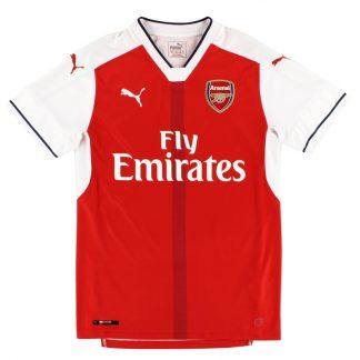 2016-17 Arsenal Home Shirt S