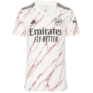 Arsenal Adult 20/21 Authentic Away Shirt L, White