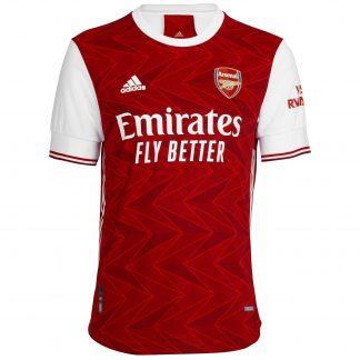 Arsenal Adult 20/21 Authentic Home Shirt L, White