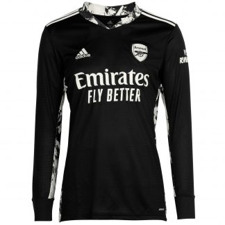Arsenal Adult 20/21 Goalkeeper Shirt 2XL, Black
