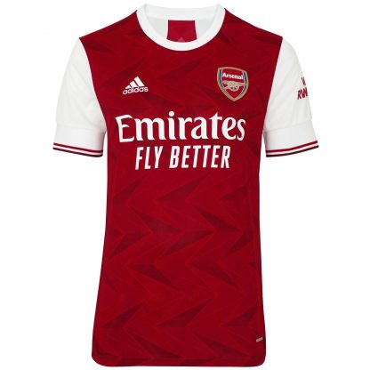 Arsenal Adult 20/21 Home Shirt XS, White