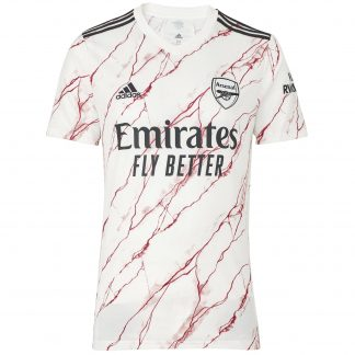 Arsenal Junior 20/21 Away Shirt 7-8, White