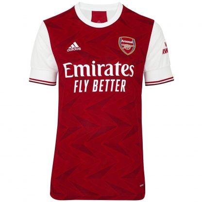 Arsenal Junior 20/21 Home Shirt 9-10, White