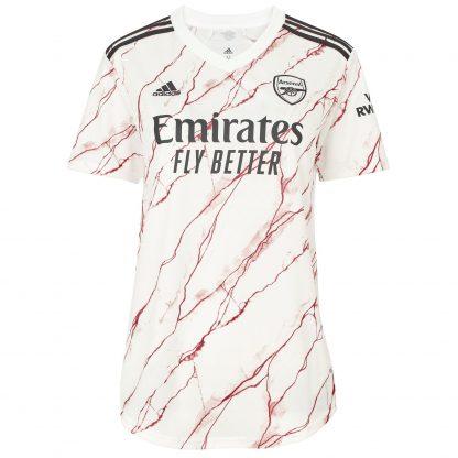 Arsenal Womens 20/21 Away Shirt 2XL, White