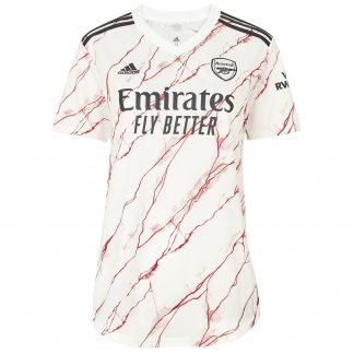 Arsenal Womens 20/21 Away Shirt S, White