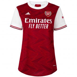 Arsenal Womens 20/21 Home Shirt 2XS, White