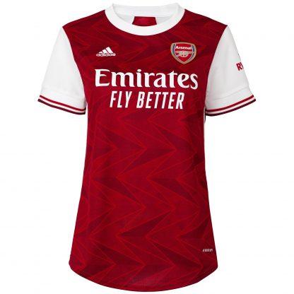 Arsenal Womens 20/21 Home Shirt 2XS, White