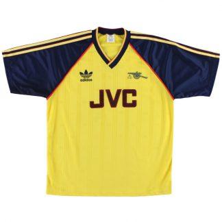 1988-91 Arsenal adidas Away Shirt XL