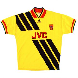1993-94 Arsenal adidas Away Shirt L/XL