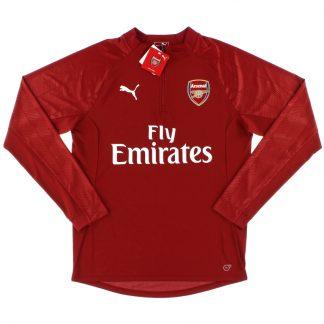 2017-18 Arsenal Puma 1/4 Zip Training Top *BNIB*