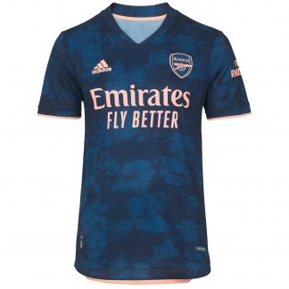 Arsenal Adult 20/21 Authentic Third Shirt S, Blue