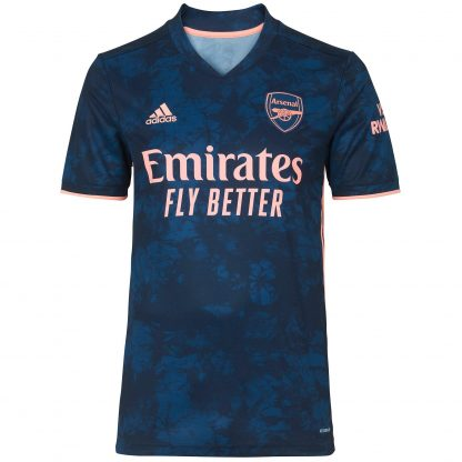 Arsenal Adult 20/21 Third Shirt XS, Blue