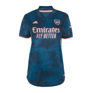 Arsenal Womens 20/21 Third Shirt 2XS, Blue
