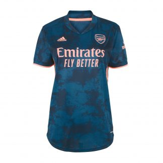 Arsenal Womens 20/21 Third Shirt L, Blue