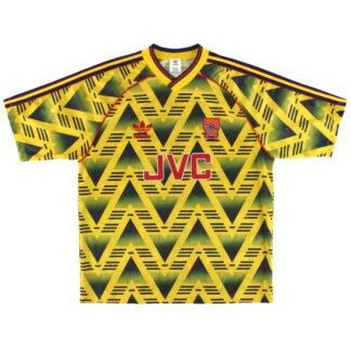 1991-93 Arsenal adidas Away Shirt L/XL