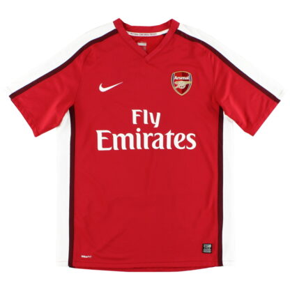2008-10 Arsenal Nike Home Shirt L