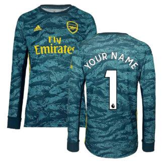 2019-2020 Arsenal Adidas Home Goalkeeper Shirt (Kids) (Your Name)