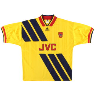 1993-94 Arsenal adidas Away Shirt L
