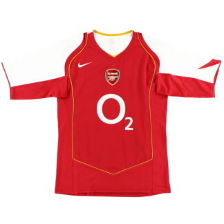2004-05 Arsenal Nike Home Shirt L