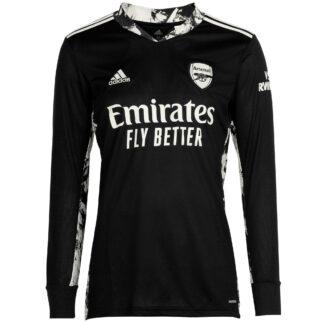 Arsenal Adult 20/21 Goalkeeper Shirt XS, Black