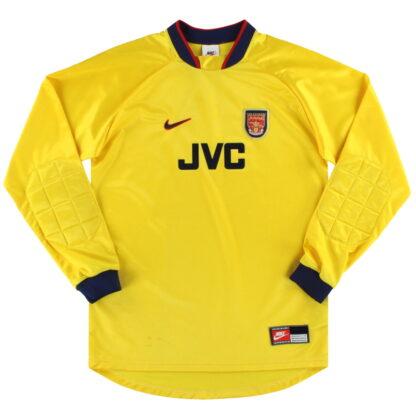1997-98 Arsenal Nike Goalkeeper Shirt XL.Boys