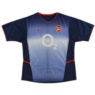 2002-04 Arsenal Nike Away Shirt L