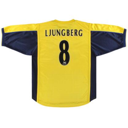 1999-01 Arsenal Nike Away Shirt Ljungberg #8