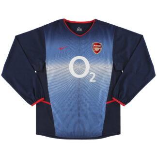 2002-04 Arsenal Nike Away Shirt L/S *Mint* M