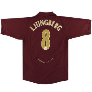 2005-06 Arsenal Nike Commemorative Highbury Home Shirt Ljungberg #8 L