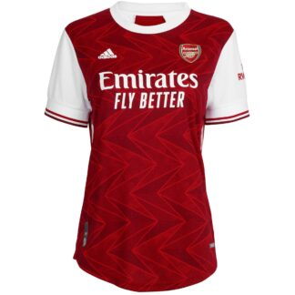 Arsenal Womens 20/21 Authentic Home Shirt XL - Red, Red/White