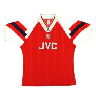 1992-94 Arsenal adidas Home Shirt L