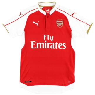 2015-16 Arsenal Puma Home Shirt S