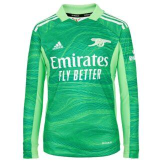 Arsenal Junior 21/22 Goalkeeper Shirt 9-10, Green