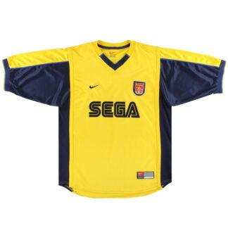 1999-01 Arsenal Nike Away Shirt XXL